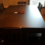 Dining Game Table (lid on) in Sagamore Hill.  Photo by Sean. Thanks Sean!