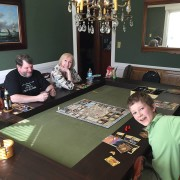 Tablezilla in Sagamore Hill and Forest Green fabric.  Photo from Doug. Thanks Doug!