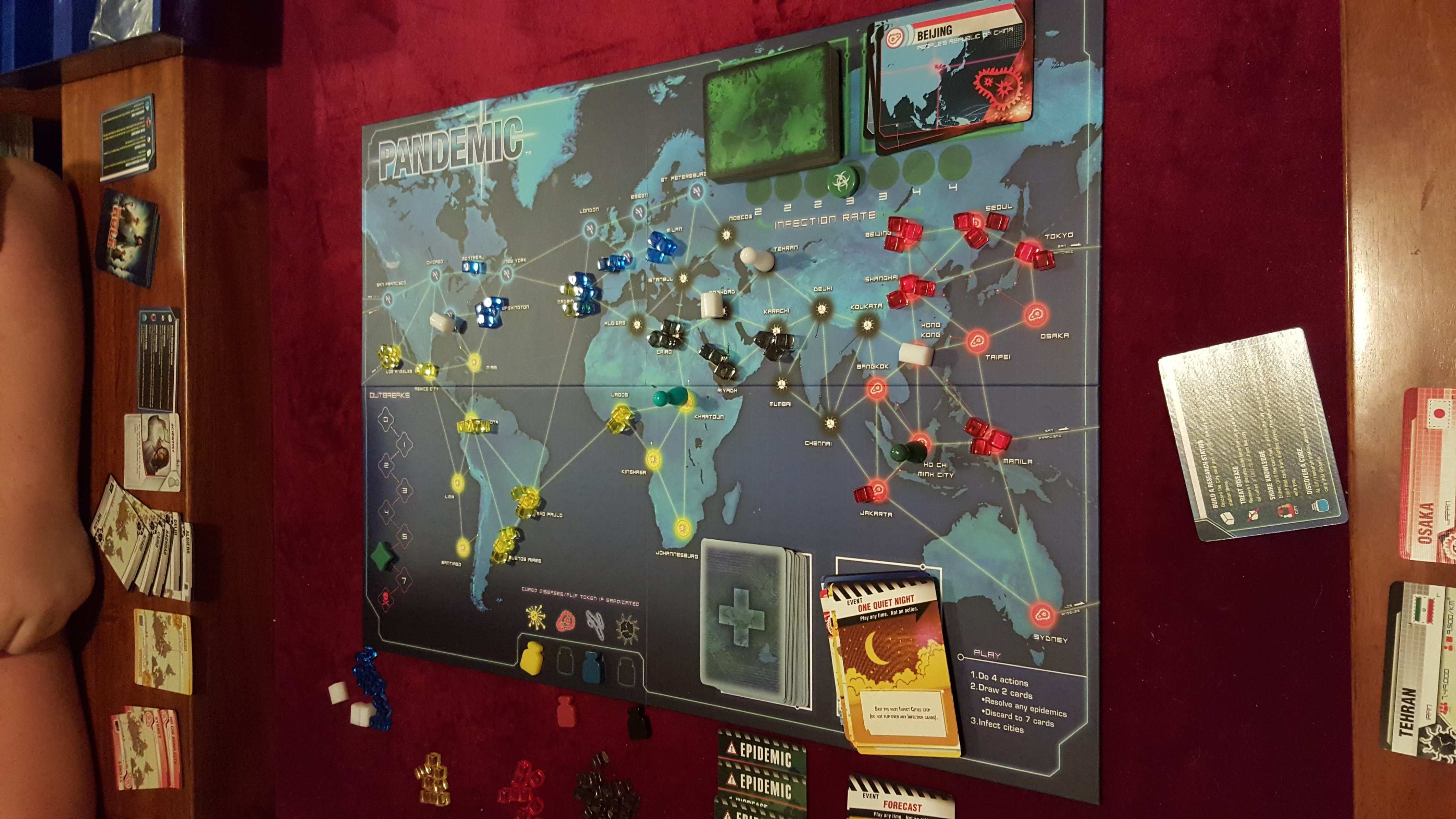 Board Game Photos Settlers Of Catan Pandemic And