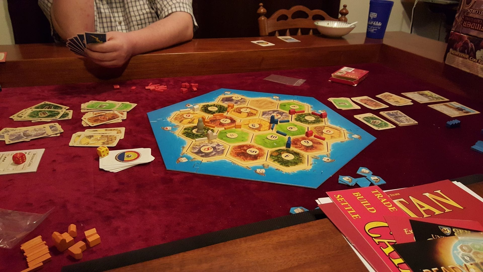 Settlers Of Catan Board Game, Published By Mayfair