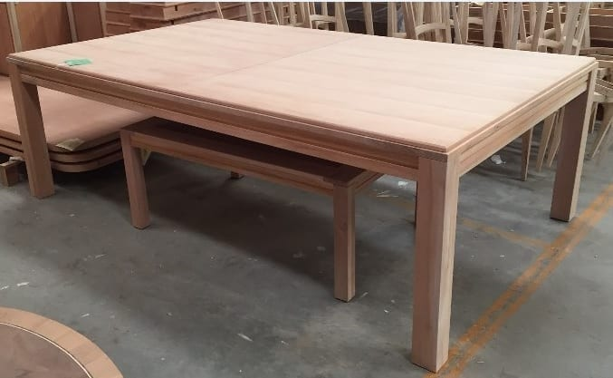 For Perspective Unfinished Coffee Game Table Is Under The Unfinished Tablezilla Game Table