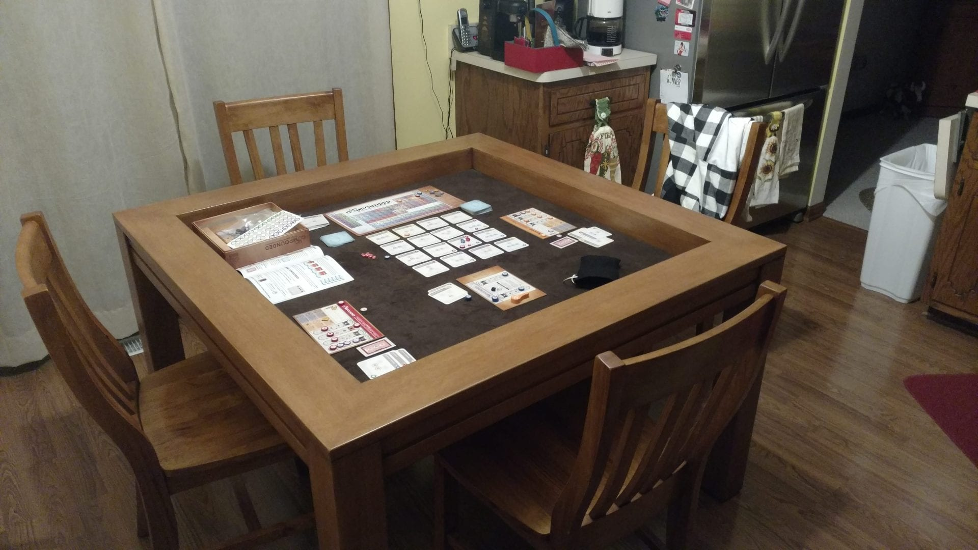 Add Two Matching Chairs To Your Carolina Game Table