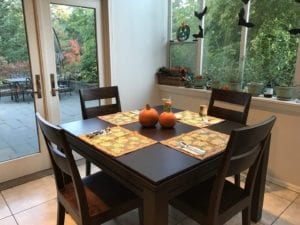 Kitchen Game Table in Sagamore Hill finish. Photo by Brad. Thanks Brad!