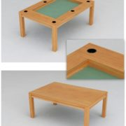 Dining Game Table with Cup Holders!