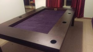 Tablezilla in Sagamore Hill and Purple. Photo by David.