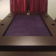 Tablezilla in Sagamore Hill finish and Purple fabric with cup holder option. Thanks David!