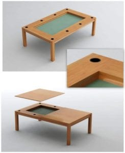 Tablezilla Game Table: Add 8 Cup Holders For $200!