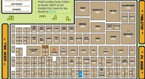 PAX South 2017 map