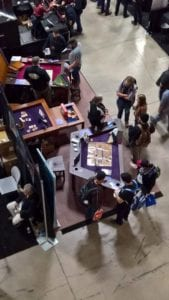 Booth From Above