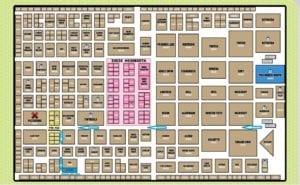 Pax East Exhibit Hall Map