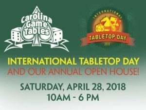 International Tabletop Day 2018