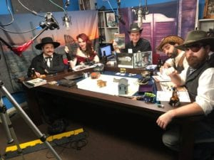 Watch WildCards play Savage Worlds on Twitch @SavingThrowShow!