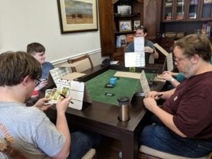 $1599 Dining in Sagamore Hill and Emerald. Playtesting Photopathy!