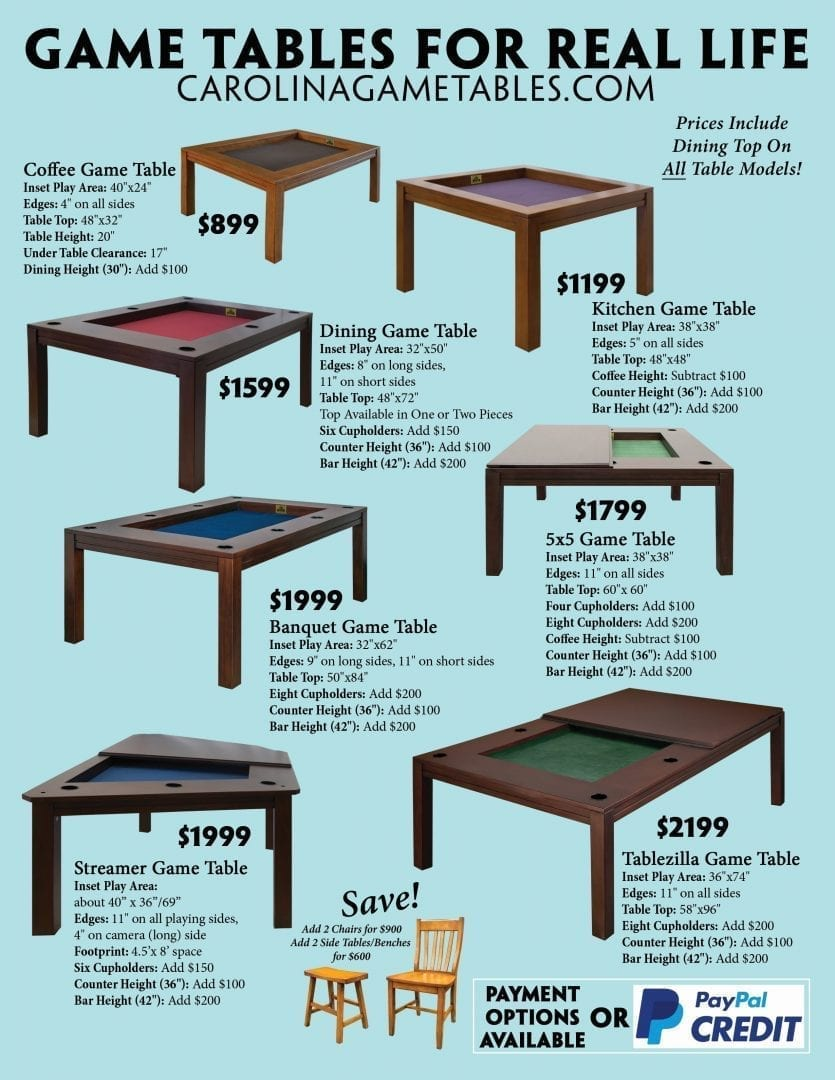 Terrific The 5X5 Game Table By Jodi And Clint Black Kickstarter Gamerscity Chair Design For Home Gamerscityorg