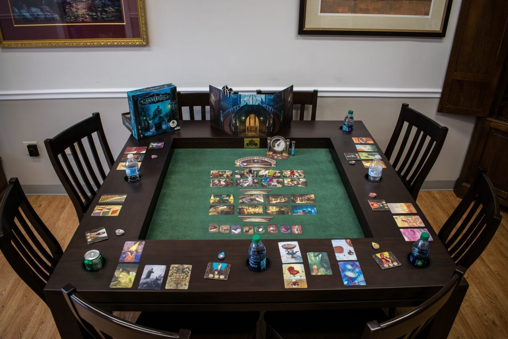 5x5 Game Table - Carolina Game Tables Carolina Game Tables